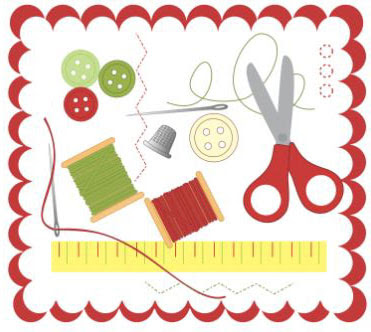 sewing tools for nat'l sewing month