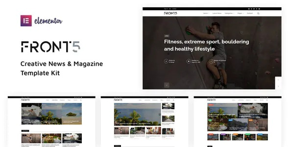 Best Creative News & Magazine Template Kit
