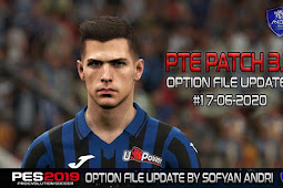 Option File Update For PTE Patch V3.1 #17-06-2020 - PES 2019