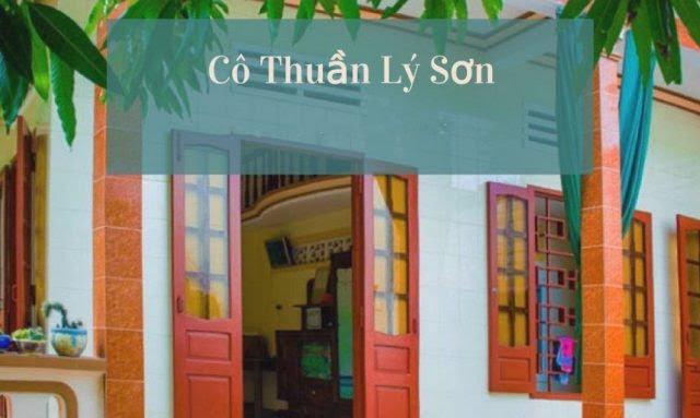 Homestay Lý Sơn Cô Thuần