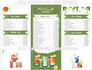 Mẫu menu free