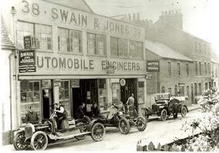 Swain & Jones original 1908 premises