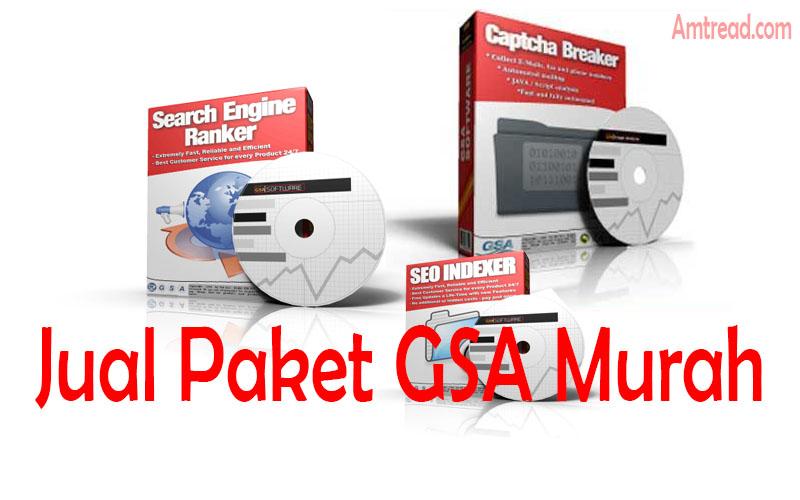 Jual paket software GSA SER crack murah