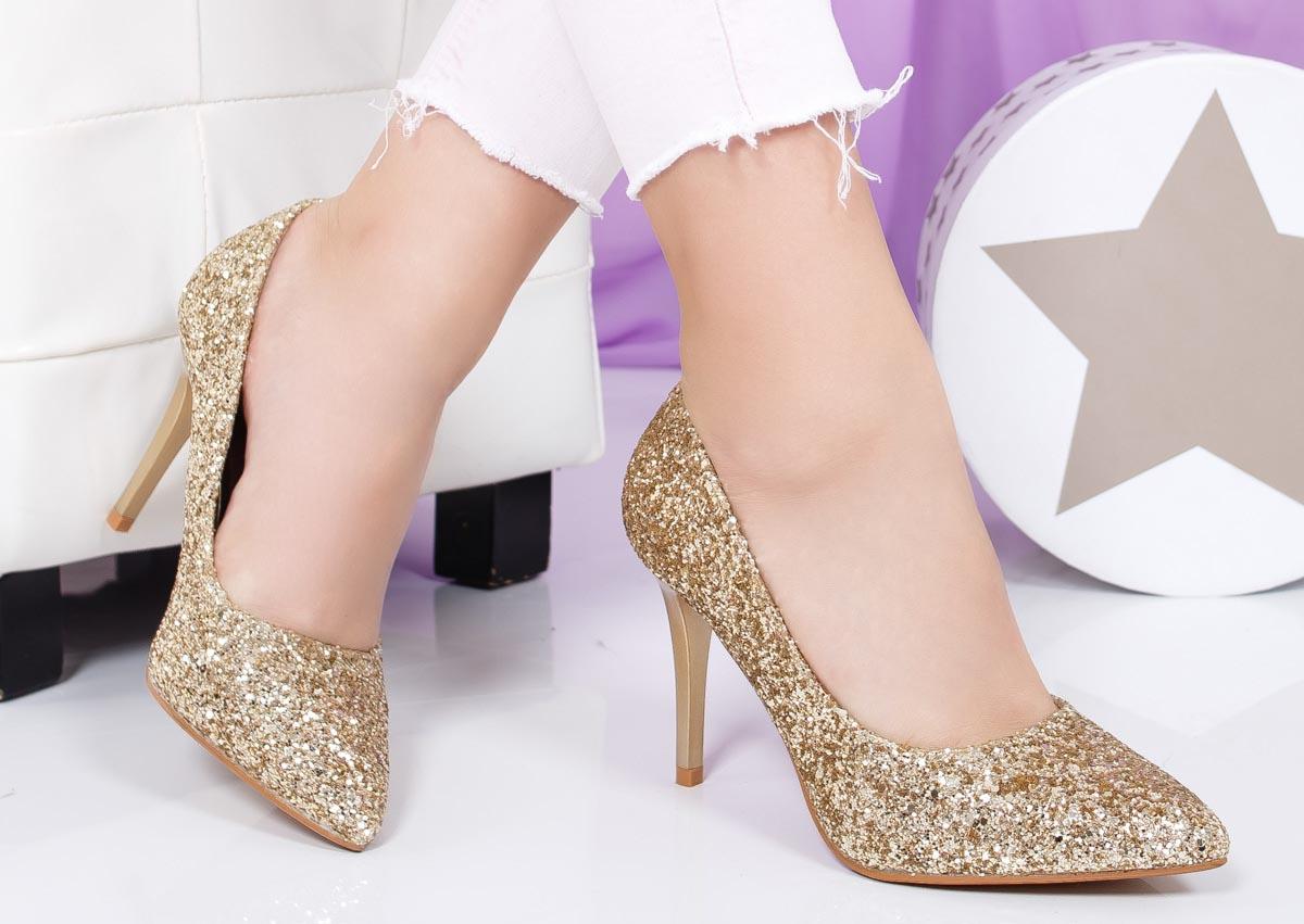 Pantofi dama cu toc inalt pentru evenimente speciale din 2018