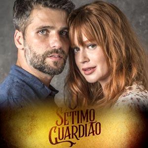 Poster da novela O Sétimo Guardião