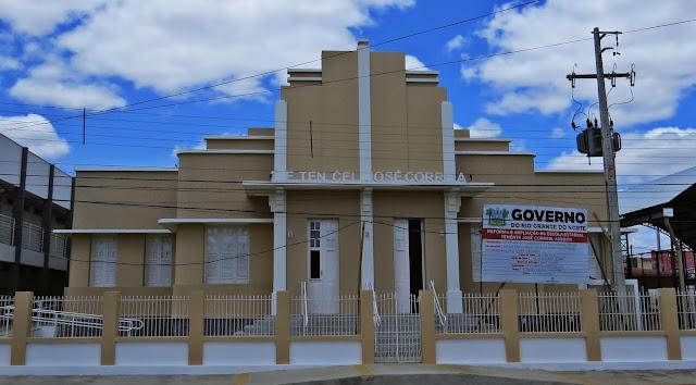 Resultado de imagem para Escola Estadual Tenente Coronel José Correia, em Assu,