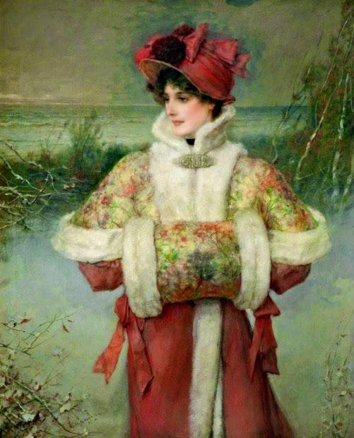 Painting Victorian Ladies Era Posters