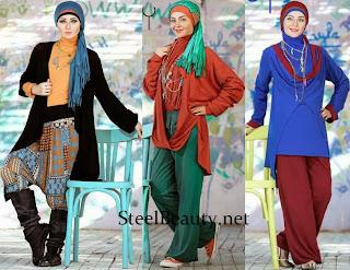 c511468b581d8 أزياء المحجبات خريف شتاء 2014 من فانسي للمراهقات - منتديات درر العراق
