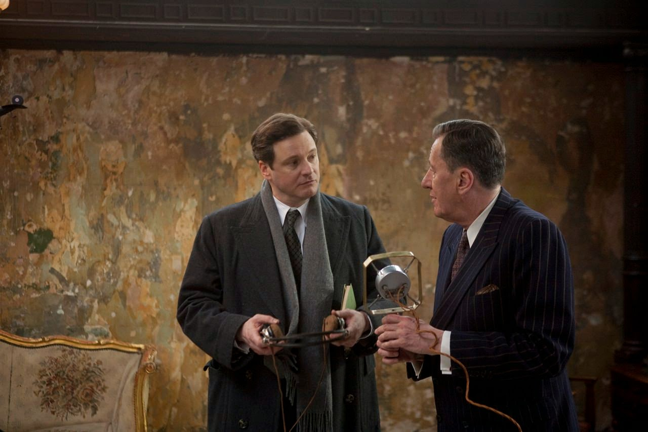 the kings speech colin firth geoffrey rush