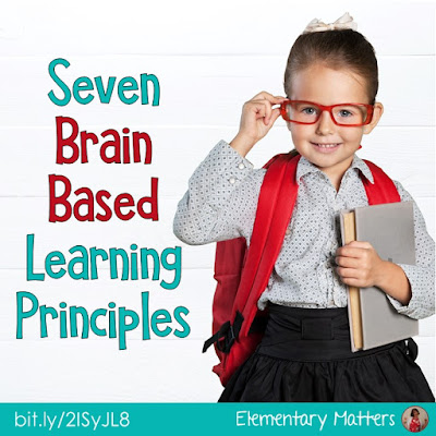Seven Brain Based Learning Principles: Here are seven of the important points I've learned about the brain, and how we can help brains learn!