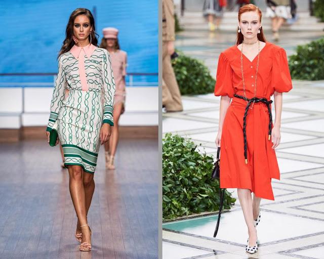 Модное платье весна-лето 2020 1