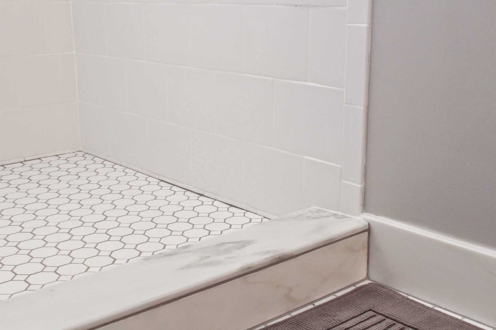 Best Shower Curb Tile Or Marble | o2 Pilates AE51
