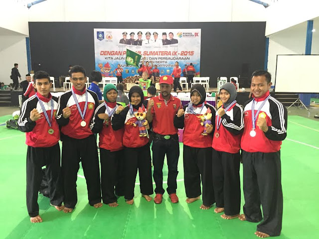 Sumbang 3 Emas di Pencak Silat, Aceh Posisi Keenam Porwil Sumatera