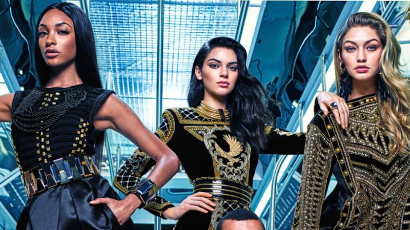 """Le Qatar s'offre la marque de luxe """"Balmain"""" pour 500 millions d'euros."""