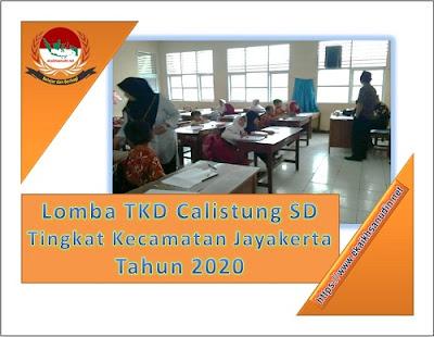 Lomba TKD Calistung SD Tahun 2020