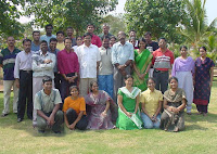 Participants along with the Faculty members of the workshop
