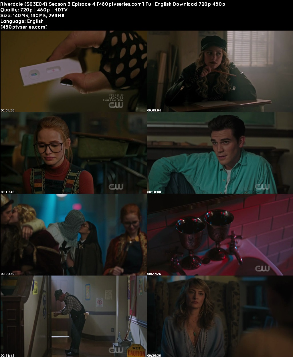 Riverdale (S03E04) Season 3 Episode 4 Full English Download 720p 480p
