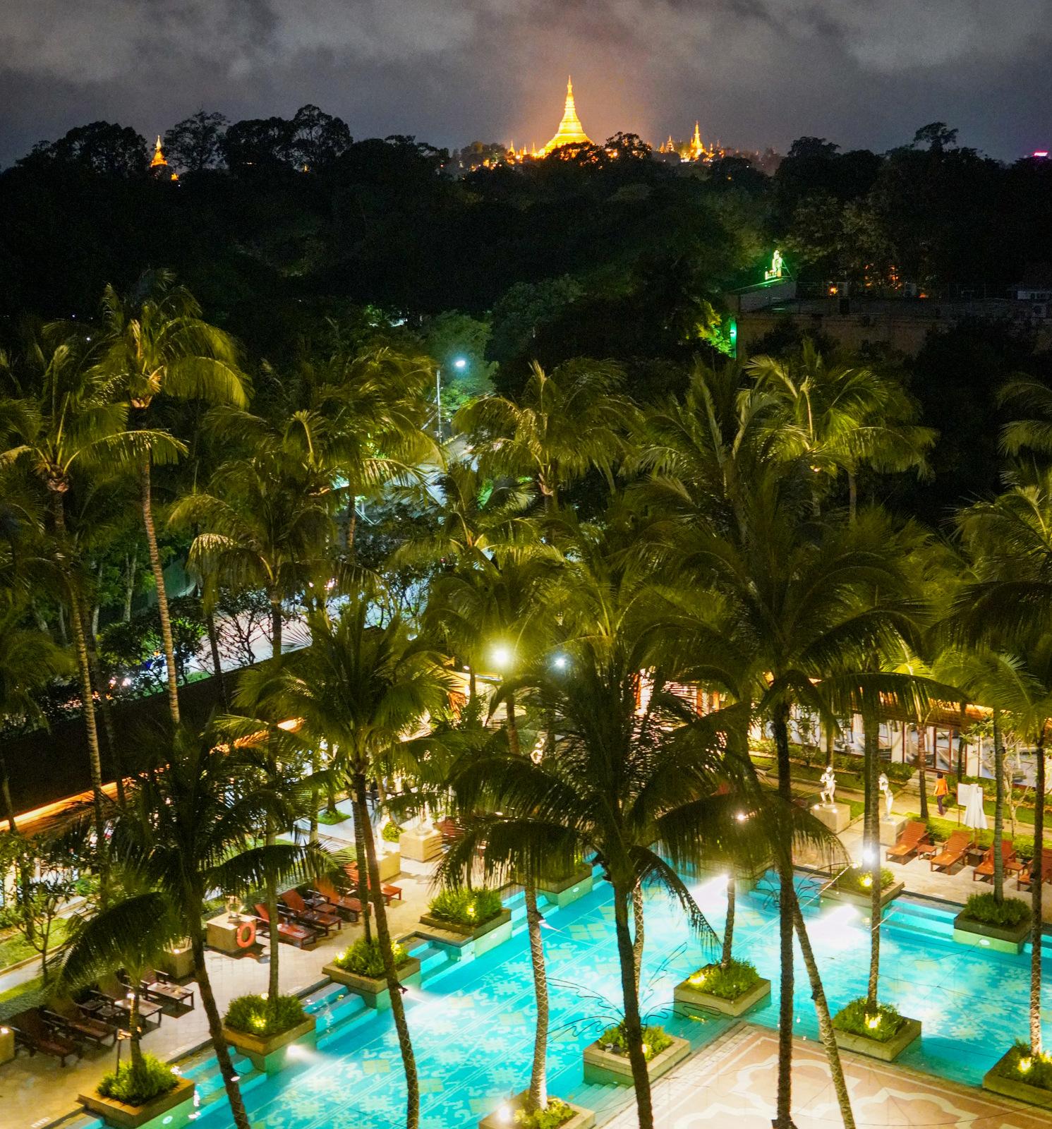 With a View, Chatrium Hotel Royal Lake Yangon
