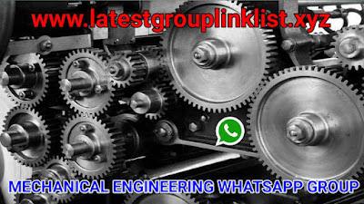 Join Mechanical Engineering Whatsapp Group Link 2020