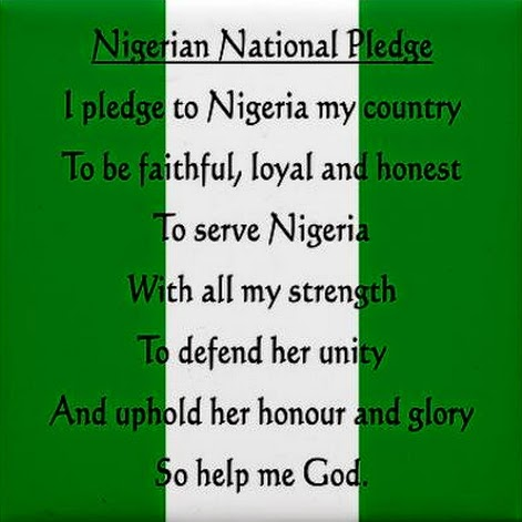 nigerian national pledge