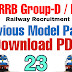 RRB Previous Question Paper 23 || Railway Recruitment Boards