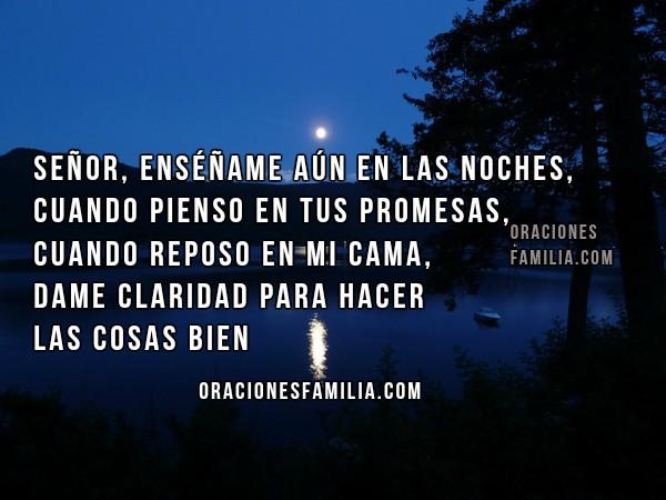 Oración bonita de buenas noches,frases con imágenes y oraciones cortas por Mery Bracho