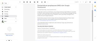 Contoh Balasan Email Untuk DMCA, Agar Artikel Terindeks Lagi