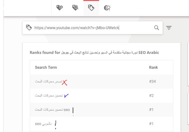 شرح طريقة الحصول على كلمات مفتاحية لليوتيوب keywords