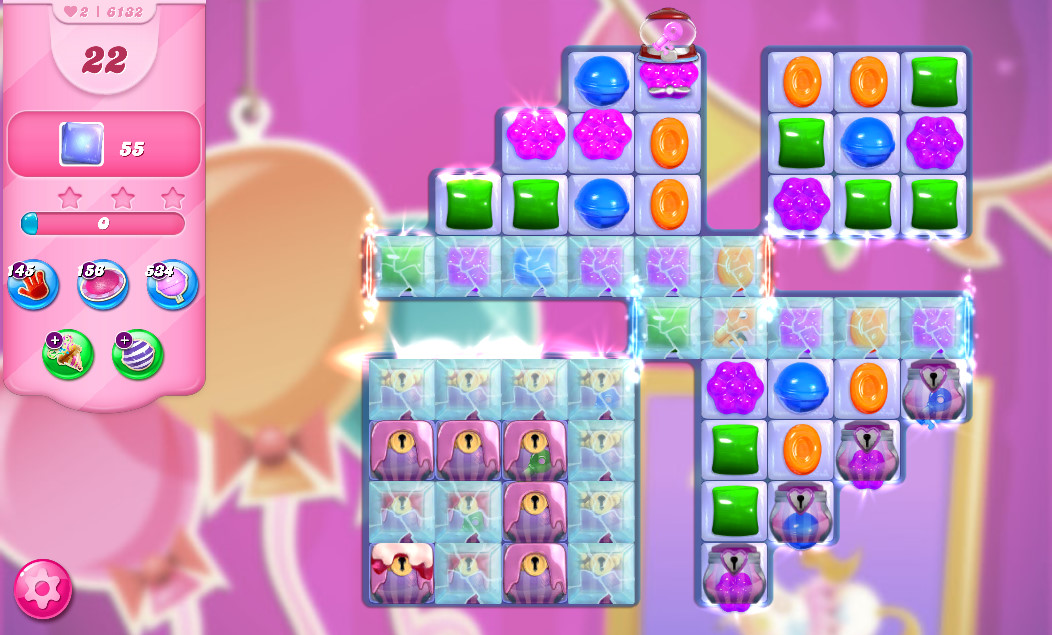 Candy Crush Saga level 6132