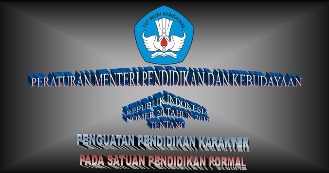 Download Permendikbud Nomor  Tentang Program Penguatan Pendidikan Karakter Ppk Dion Karya
