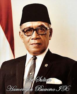 Foto Sri Sultan Hamengku Buwono IX (1973 - 1978)