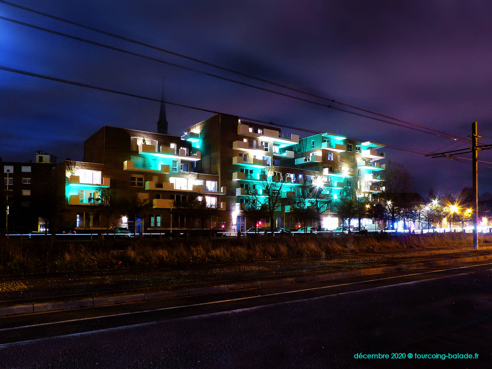 Résidence Equinox, Tramway, Tourcoing 2020