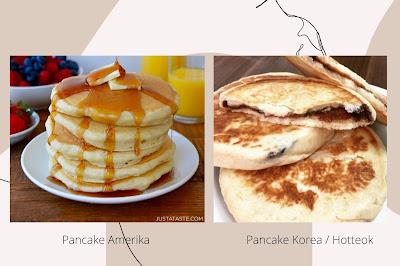 Perbedaan-Pancake-Amerika-dengan-Hotteok