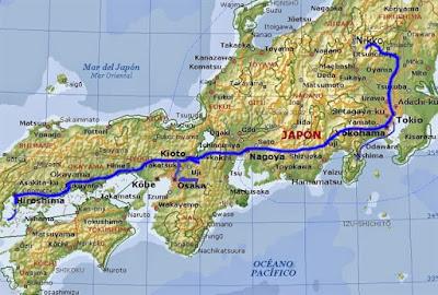 Itinerario de una ruta de dos semanas por Japón