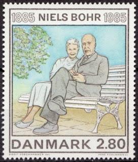 Denmark 1985 Mi 848 Niels Bohr; Physicist