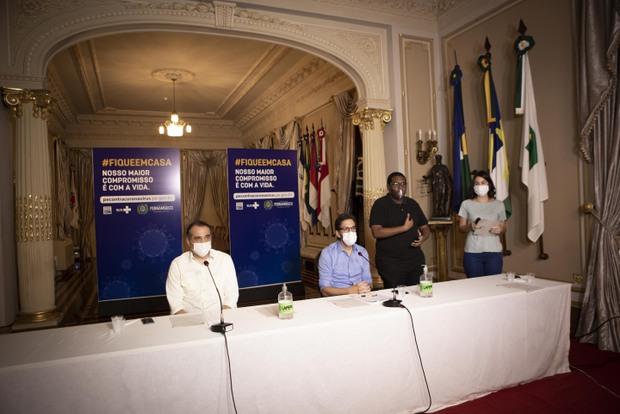 Governo de Pernambuco anuncia plano de reabertura das atividades econômicas