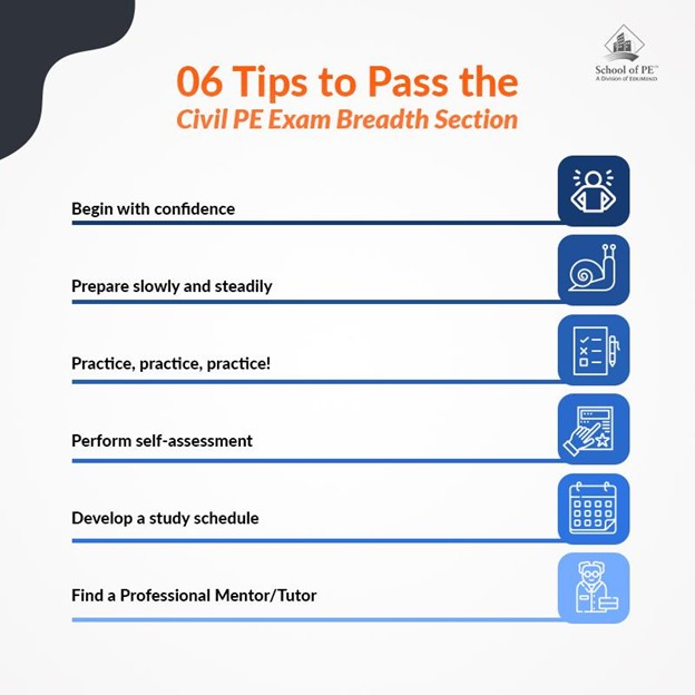 Tips to Pass the Civil PE Exam Breadth Section