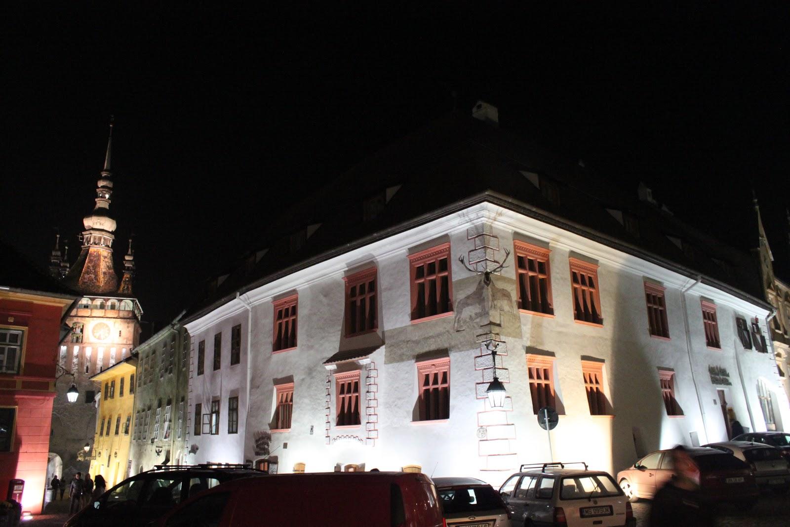 El dadaista gastronmico Comida Tradicional Rumana  Casa cu Cerb Sighisoara