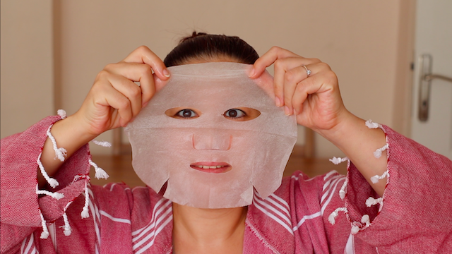 Garnier Taze Karışım Kağıt Yüz Maskesi kullananlar Hyaluronik Asit 7