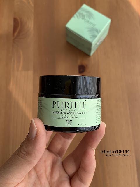 purifie organic moisturizer krem