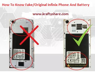 How To Know Fake/Original Infinix Phone And Battery