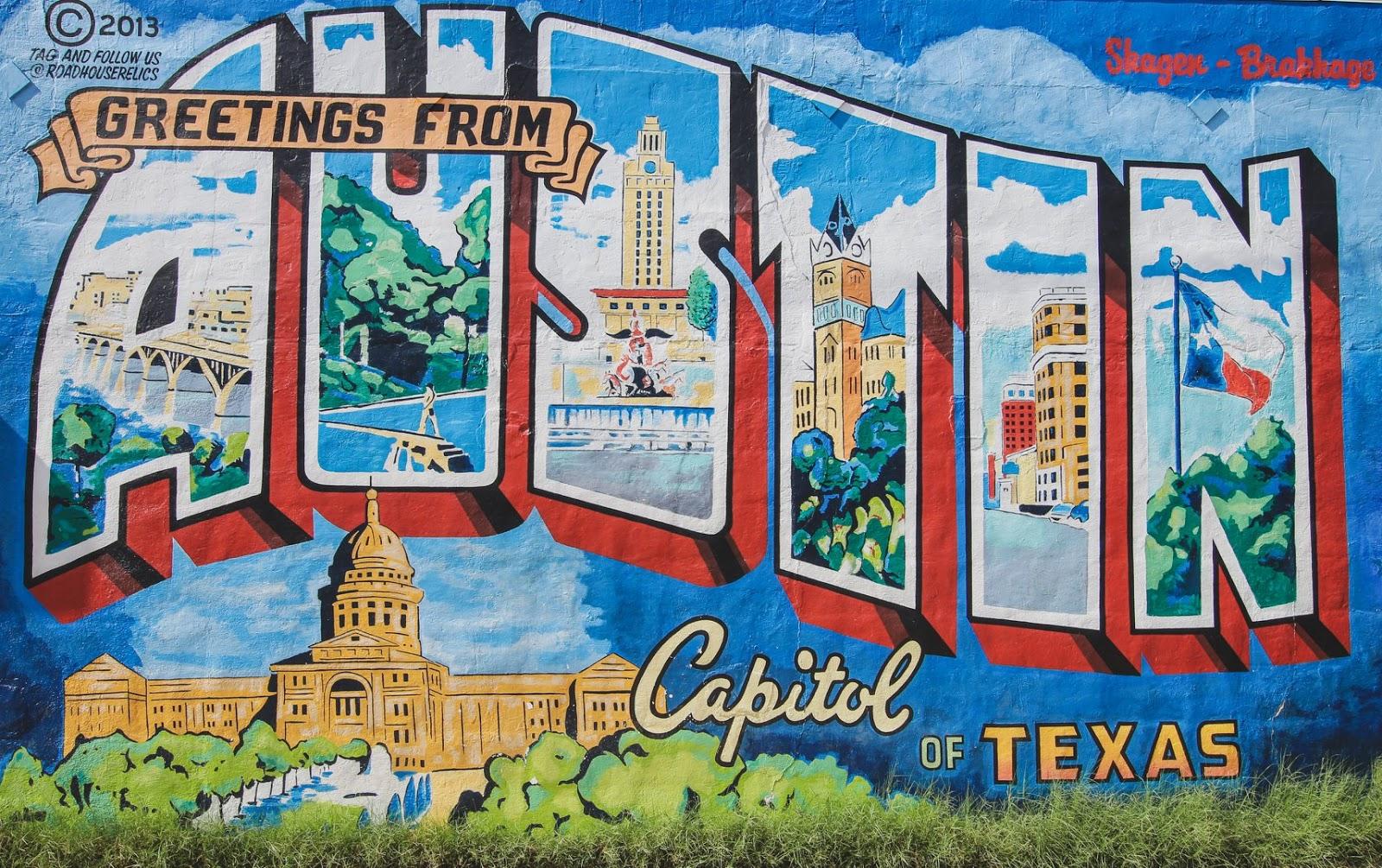 Austin Wall Murals
