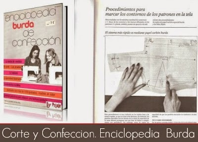 Corte y Confeccion. Enciclopedia  Burda