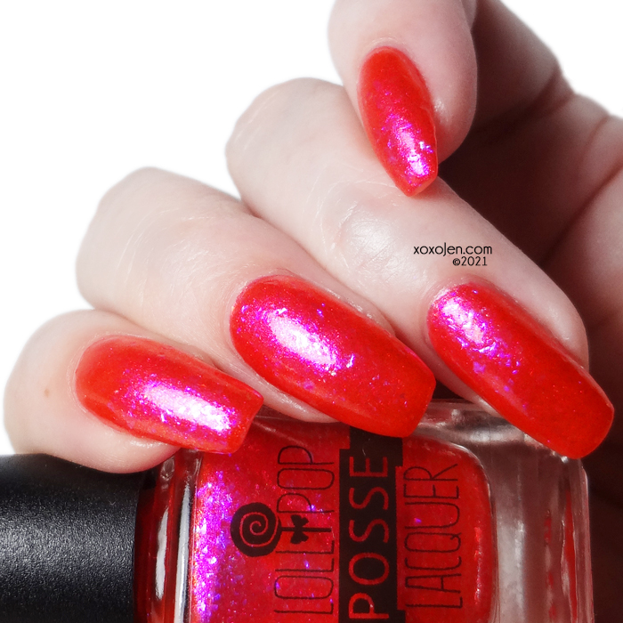 xoxoJen's swatch of Lollipop Posse The Tulgey Wood