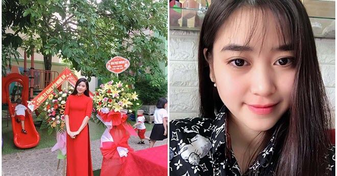"""Cô giáo mầm non xứ Nghệ sở hữu nhan sắc ngọt ngào gây """"sốt"""" mạng"""
