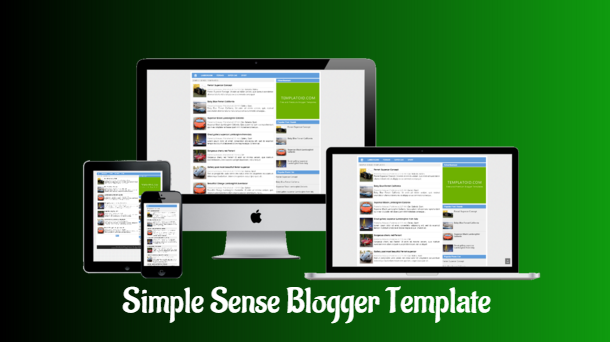 Simple Sense Personal Blogger Template - Responsive Blogger Template