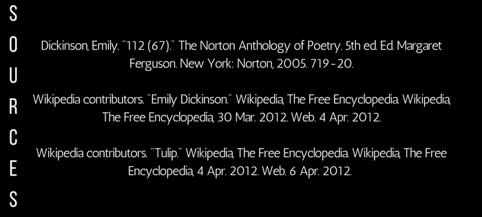 Analysis of Emily Dickinson's 112 (67) Success is counted sweetest (sources)