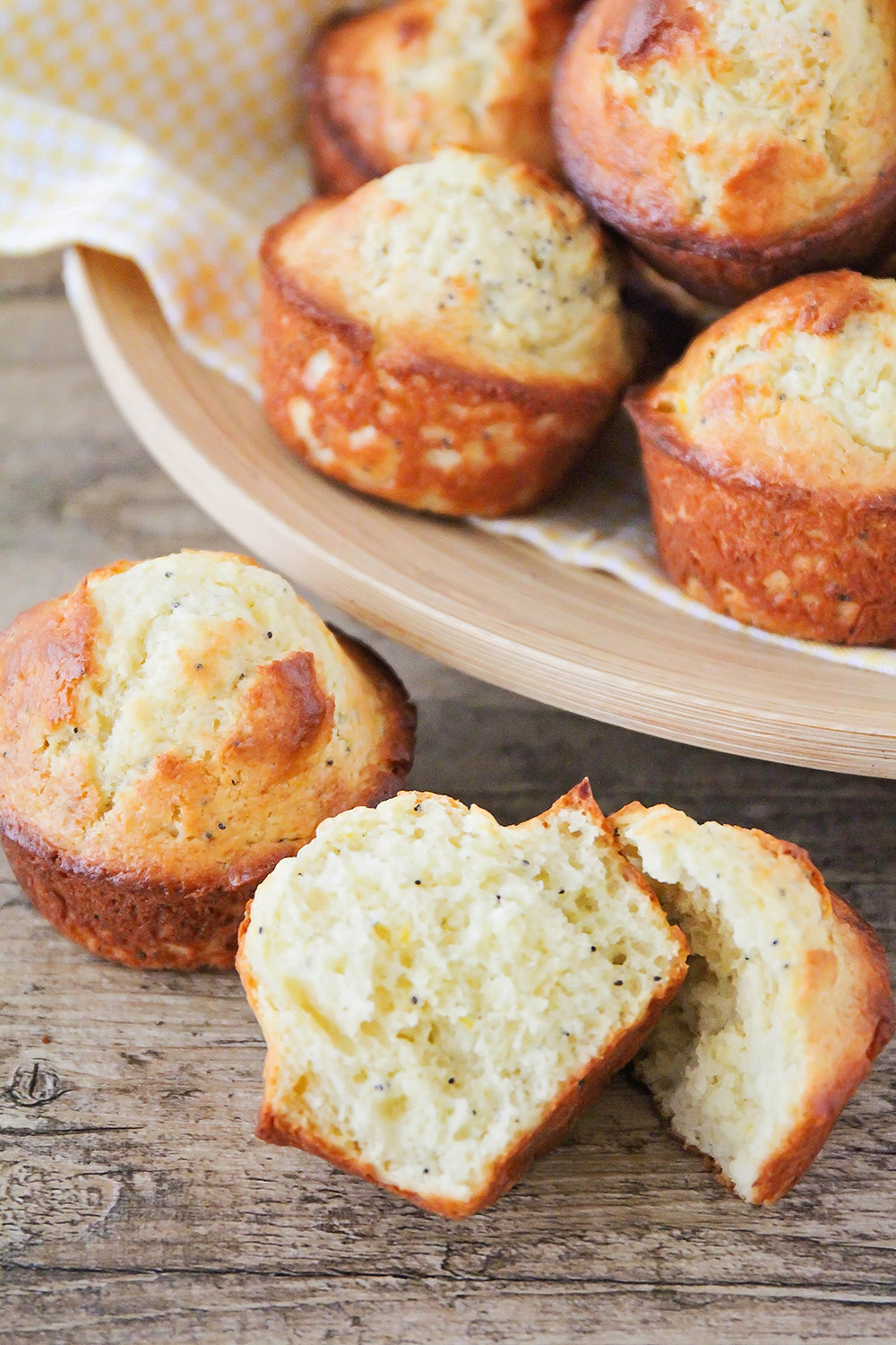 These lemon poppy seed muffins are light and tender, and such a delicious combination of flavors!