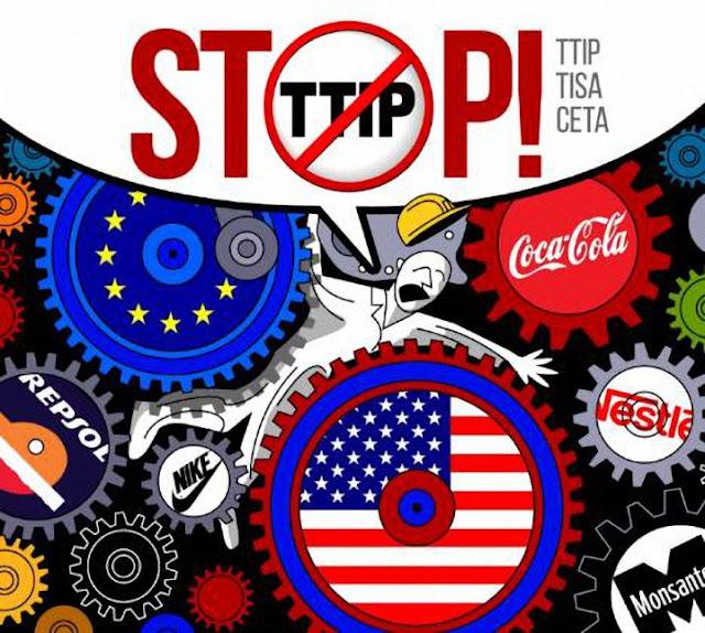 """TTIP """"La dictadura de las multinacionales"""""""