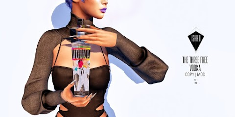 [ ISHIKU GROUP GIFT ] The Three Free Vodka